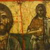Byzantine Icon-Jesus Christ & St. John the Baptist